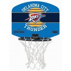 Basketbalový miniboard NBA OKLAHOMA CITY THUNDER Spalding