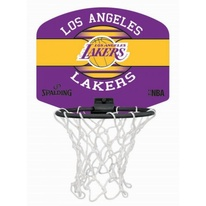 Basketbalový miniboard NBA LA LAKERS Spalding