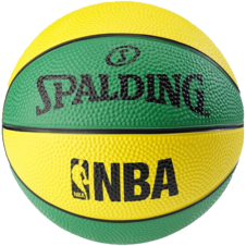 Basketbalový NBA MINIBALL green/yellow Spalding