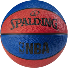 Basketbalový NBA MINIBALL blue/red Spalding
