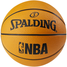 Basketbalový NBA MINIBALL orange Spalding