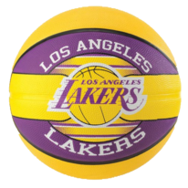 Basketbalový míč NBA TEAM LA LAKERS Spalding (vel.5)