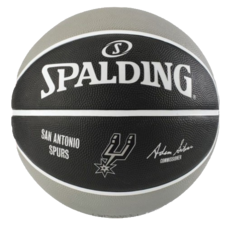Basketbalový míč NBA TEAM SA SPURS Spalding (vel.5)