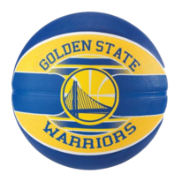 Basketbalový míč NBA TEAM GOLDEN STATE WARRIORS Spalding (vel.5)