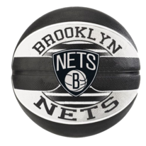 Basketbalový míč NBA TEAM BROOKLYN NETS Spalding (vel.7)