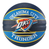 Basketbalový míč NBA TEAM OKLAHOMA CITY THUNDER Spalding (vel.7)