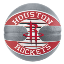 Basketbalový míč NBA TEAM HOUSTON ROCKETS Spalding (vel.7)