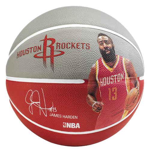 Basketbalový míč NBA PLAYER JAMES HARDEN Spalding (vel.7)