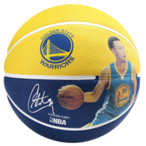 Basketbalový míč NBA PLAYER STEPHEN CURRY Spalding (vel.7)