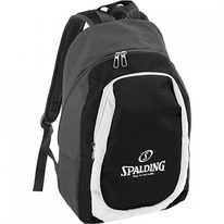 Batoh BACKPACK ESSENTIAL anthracite/ black/white Spalding