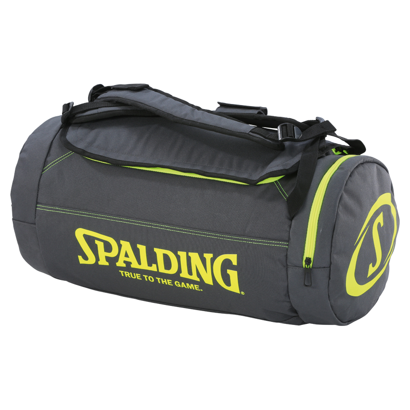 Taška DUFFLE BAG anthra/fluo yellow Spalding