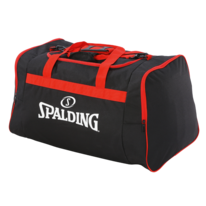 Taška TEAM BAG MEDIUM black/red Spalding