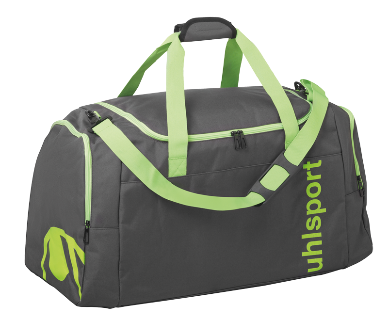 ESSENTIAL 2-0 SPORTS BAG 30L anthra-fluo green