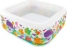 Bazén AQUARIUM Intex 57471 159 x 159 x 50 cm