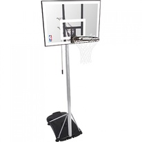 Basketbalový koš NBA SILVER PORTABLE Spalding
